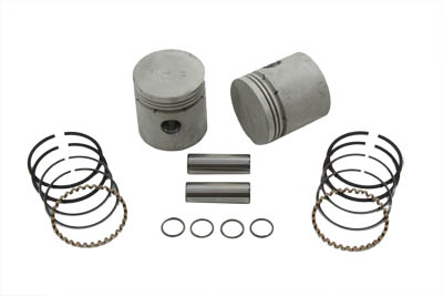 .060 Piston Kit w/ Thick Ring for 1929-1952 WL & G Side Valve