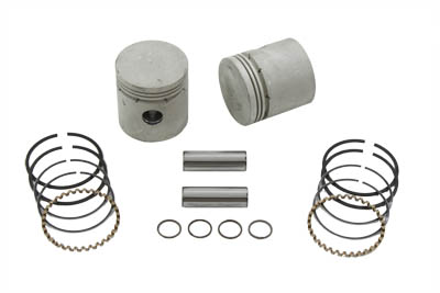 .070 Piston Kit with Thin Rings for 1929-1973 Side Valve