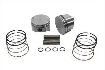 "88"" Twin Cam Piston Set .010 8.8:1 for 1999-2006 Big Twins"