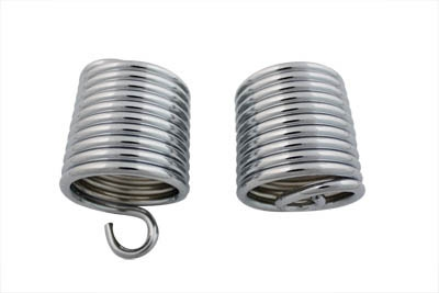 Auxiliary Seat Chrome Spring Set for FL 1958-1964