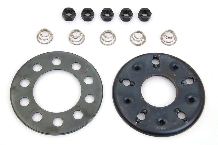 FX & FL 1941-1984 5-Stud Clutch Nut and Plate Kit