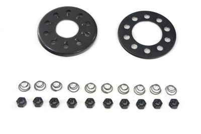 FX & FL 1941-1984 Clutch 10-Stud Nut and Plate Kit