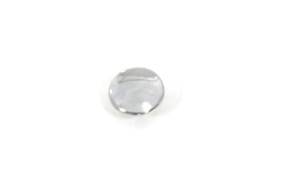 "1/4"" Allen Caps Chrome - 100 Pack"