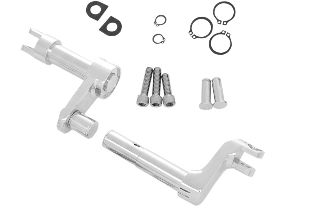 "Footpeg 2"" Extension Set Chrome for XL 2014-UP"