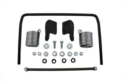 Auxiliary Seat Spring Bracket Kit for FL 1958-1964 Big Twins