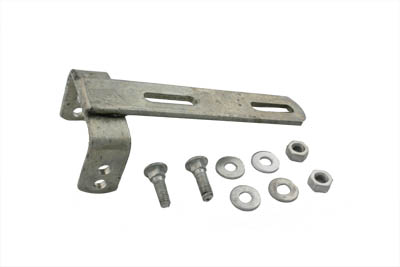 "2-1/2"" Tilt-Up Seat Mount Bracket Zinc"
