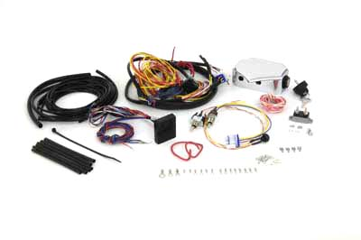 Wire Plus Chopper Wiring Harness Kit w/ 3 Hidden Switches [32-0477] -  $117.54 : Biker Part Superstore, The Biggest Aftermarket Parts Store on the  Web for Bikers