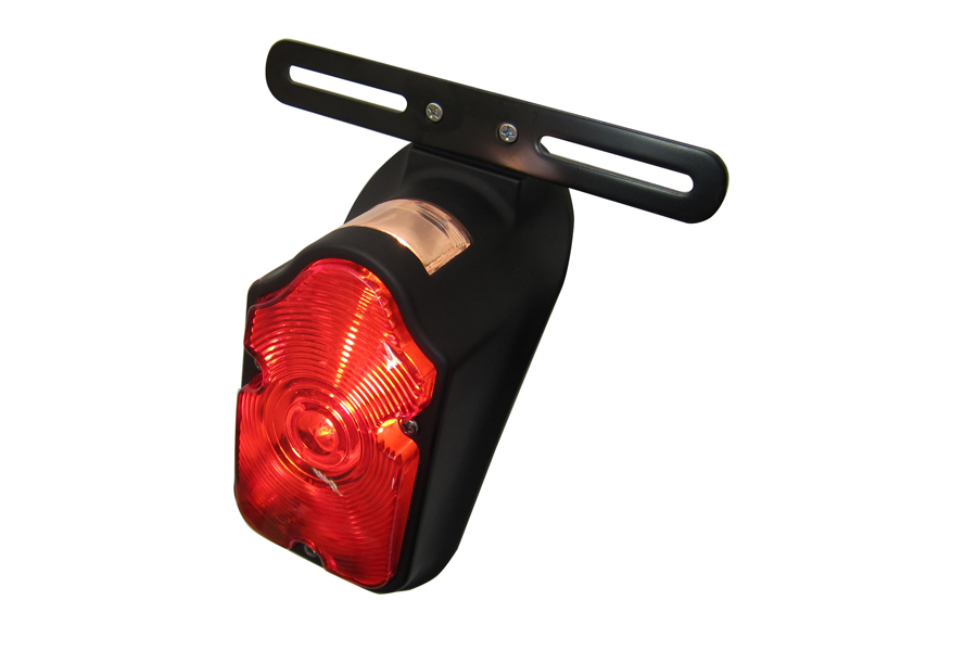 Black Tombstone Tail Lamp Assembly