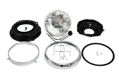 "7"" Headlamp Assembly for 1960-1984 FL"