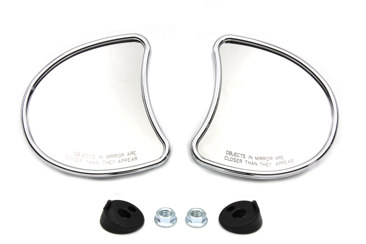 Chrome FLT 2014-UP Fairing Mount Mirror Set