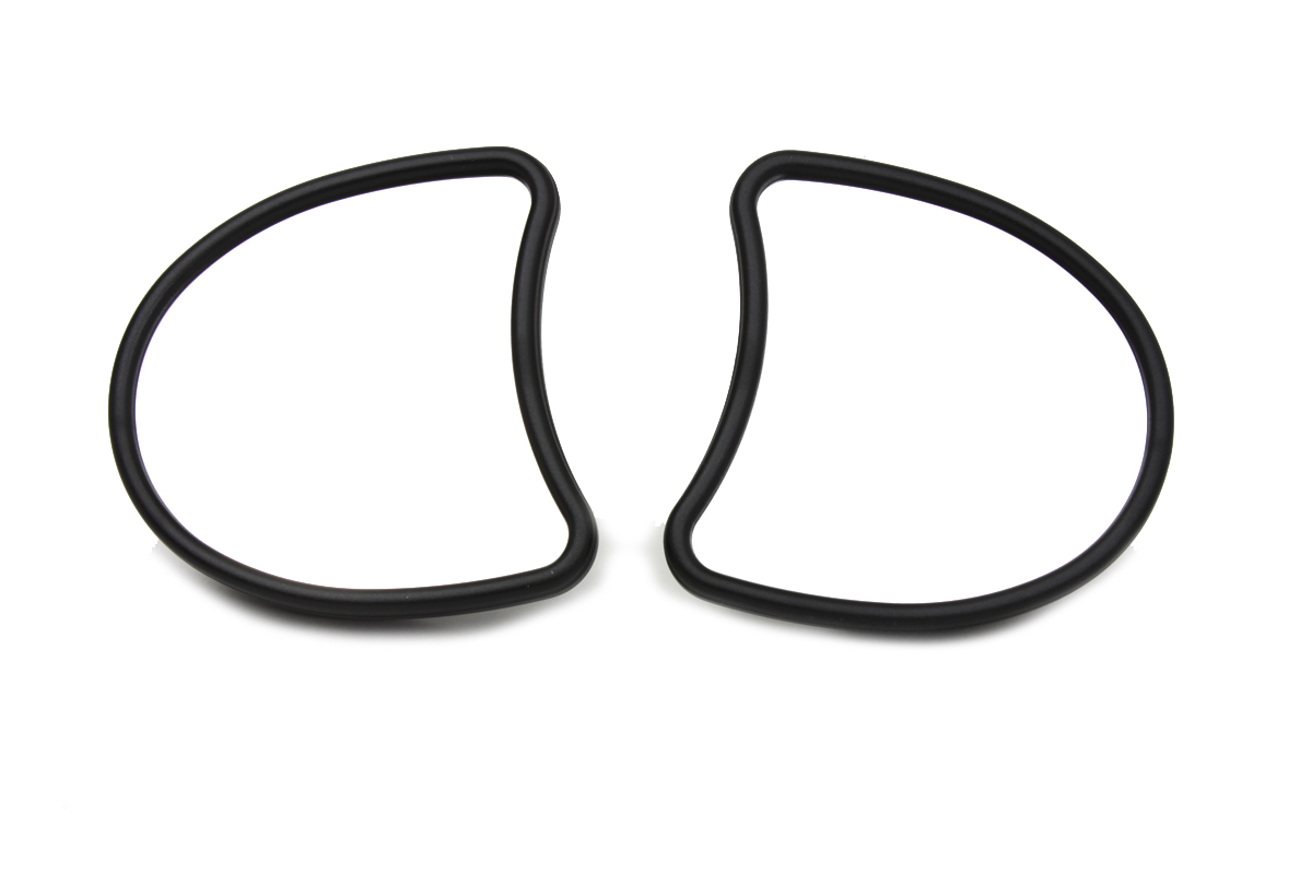 FLT 2014-UP Black Fairing Mount Mirror Set