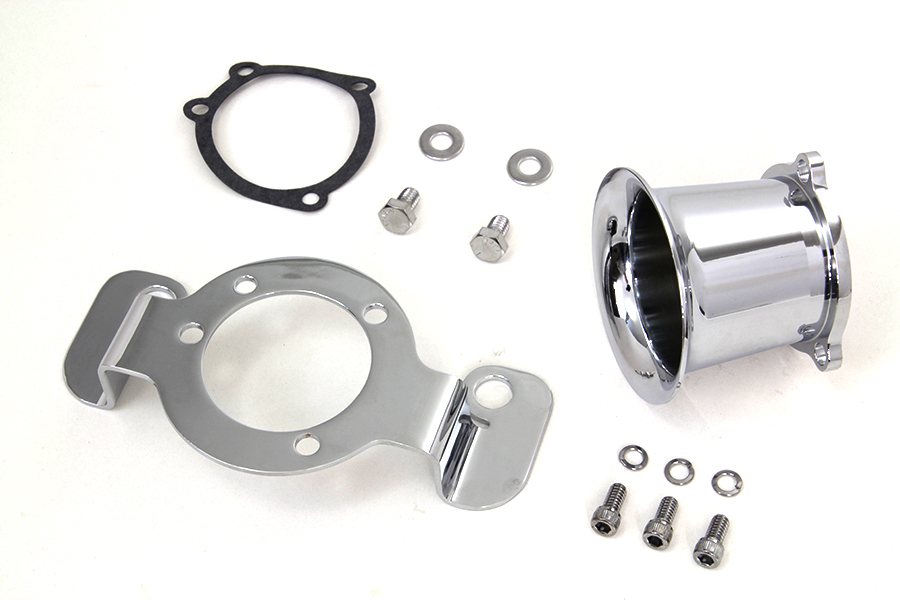 Velocity Stack Kit Chrome for XL 1988-1990 Sportsters