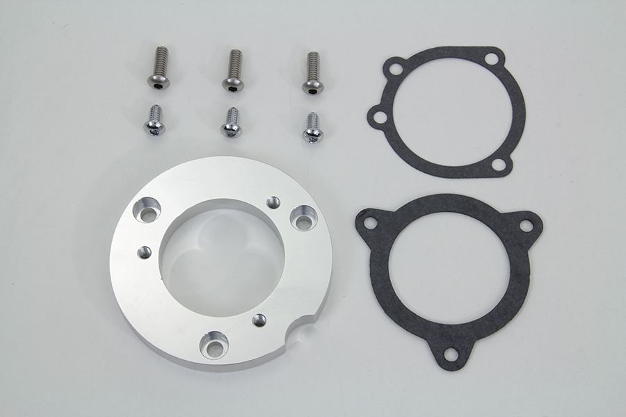 install CV air cleaners to 38mm Bendix//Keihin carb. Air Cleaner Adapter Plate