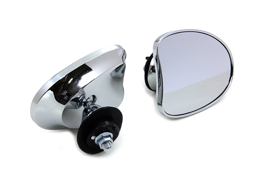FLT 2014-UP Mini Fairing Mirror Set Chrome