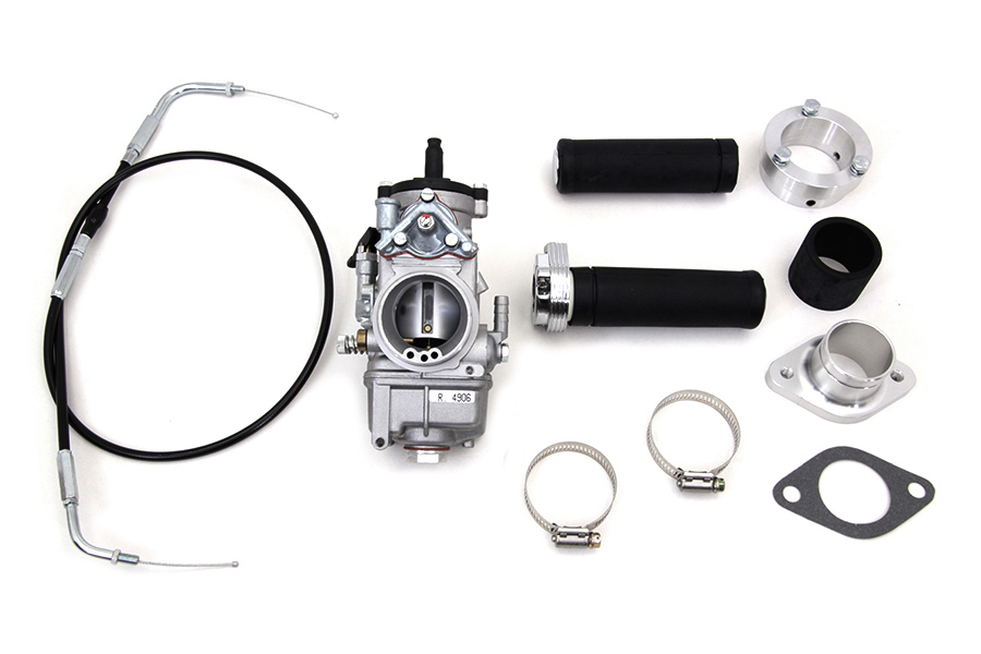 Dell'Orto 38mm Carburetor Kit for 1957-85 Big Twins & XL