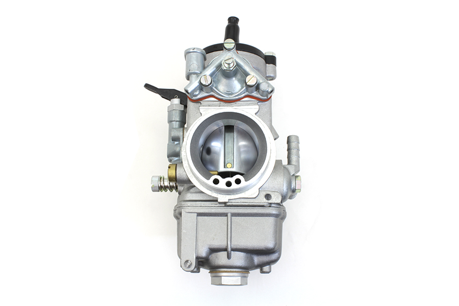 Dell'Orto 38mm Carburetor Cadmium for Big Twins & XL Sportsters