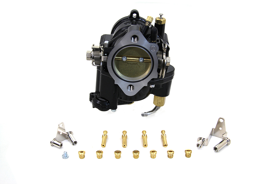 Black S&S E Carburetor, 1986-2006 XL, 1984-1999 Softails