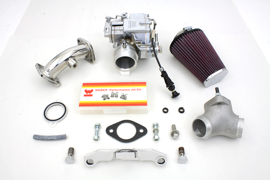 "Weber 80"" Carburetor Kit for 1984-1998 FX & FL Big Twins"