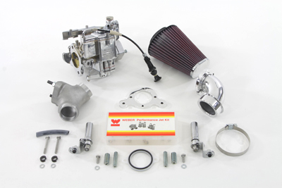 "Weber 88"" Carburetor Kit for 1999-UP FXST-FLST-FXD"