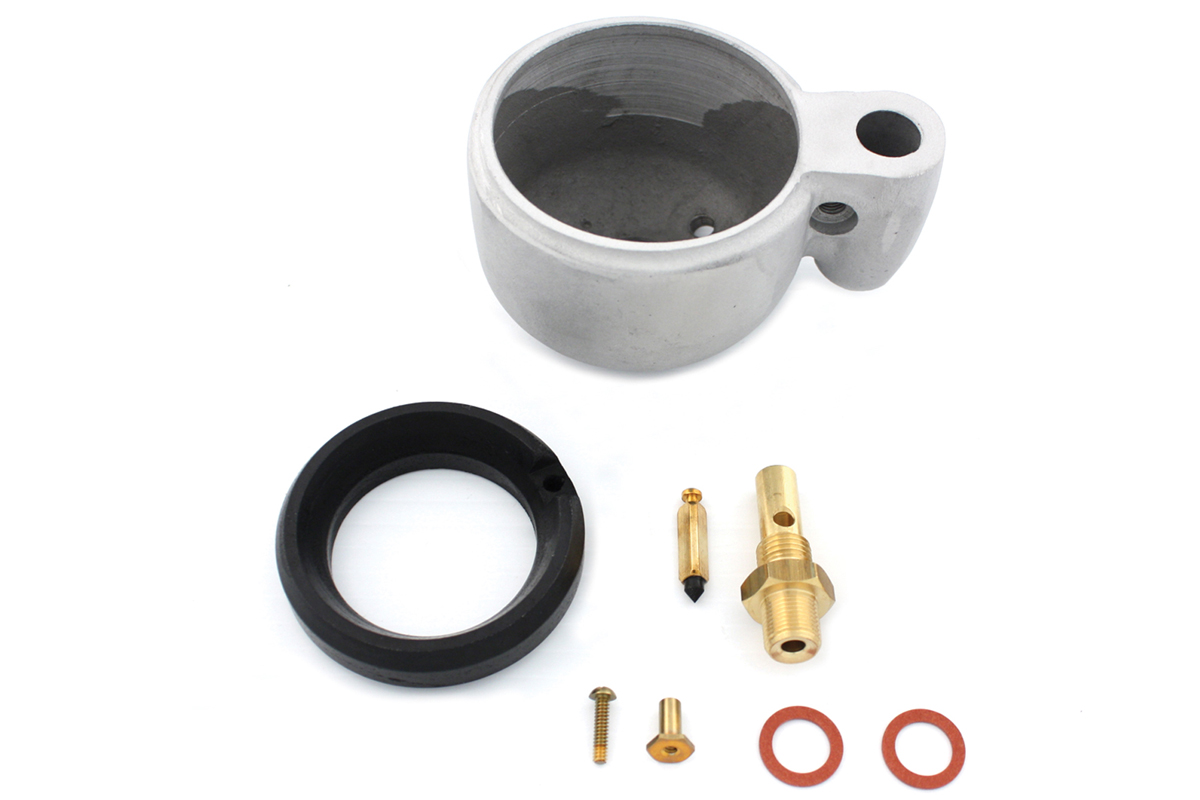Carburetor Bowl & Float Assembly for 1936-1965 EL & FL