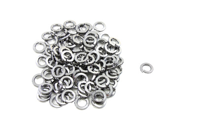 "3/8"" Lock Washer Chrome - 100 Pack"