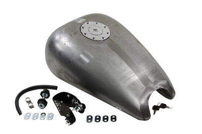 "2"" Stretch Bobbed 3.5 Gallon Gas Tank for XL 1982-2003"