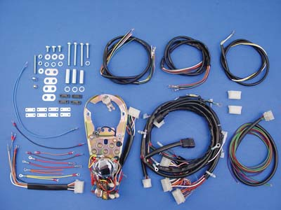 Harley 1991-95 FXST-FLSTWiring Harness Dash Base Assembly