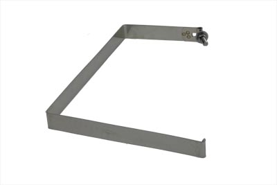 FL 1970-1984 Big Twins Stainless Steel Battery Strap