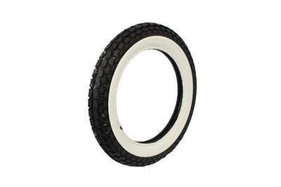 Replica Beck 4.00 x 18 Front/Rear Wide Whitewall Tire