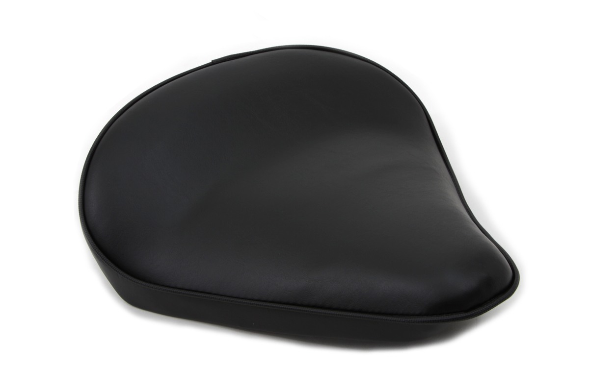 Black Smooth Solo Seat Large