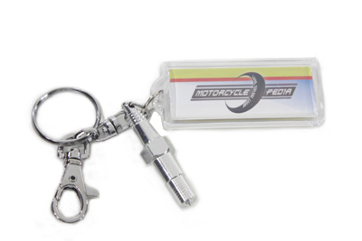 Spark Plug Design Key Chains