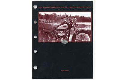 Factory Spare Parts Book for 2001 Softail Deuce