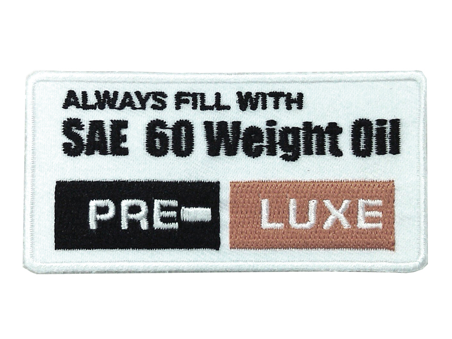 SAE 60 Weight Oil Patches
