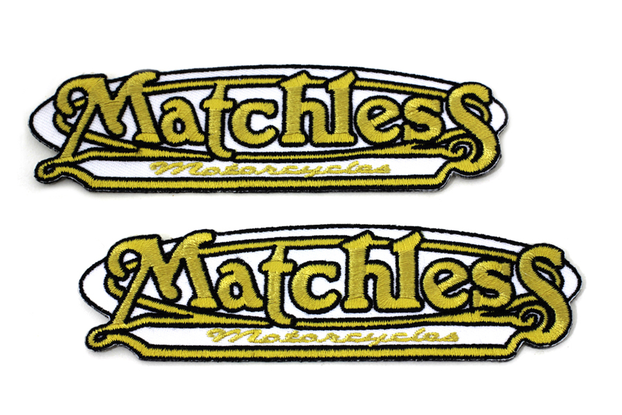 Matchless Motorcycle Patches