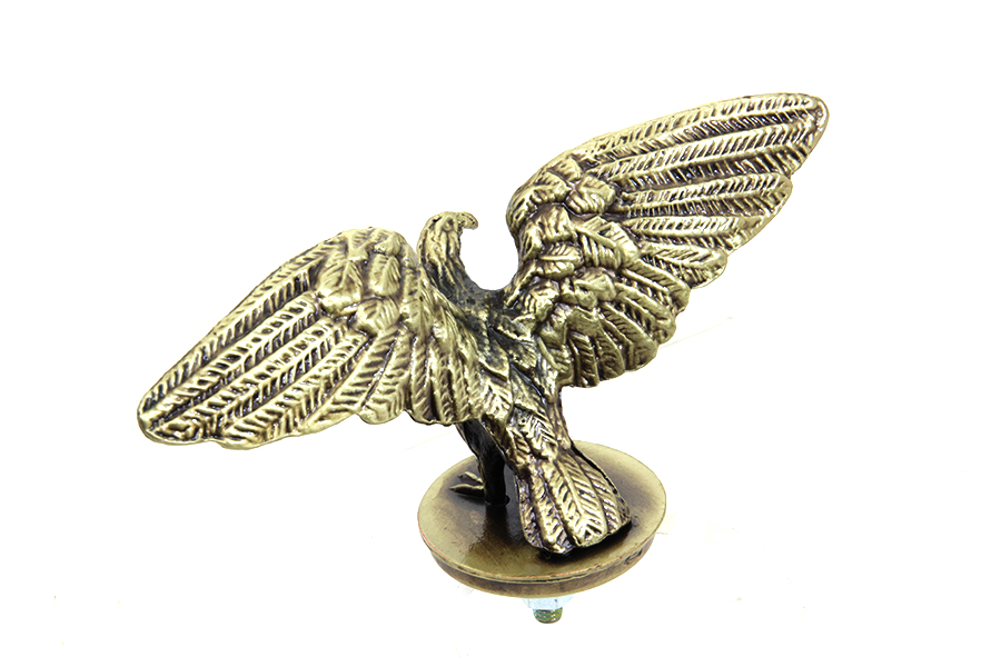 Front or Rear Bronze Eagle Fender Ornament