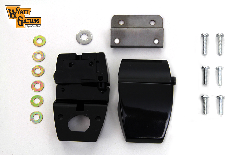 FLT 2006-2013 Black Touring Luggage Pack Latch Kit