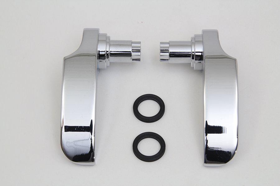 Chrome FLT 2014-UP Touring Saddlebag Handle Kit