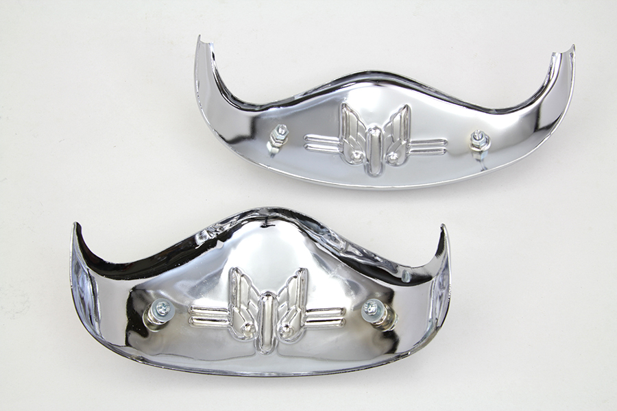Chrome Fender Tip Set