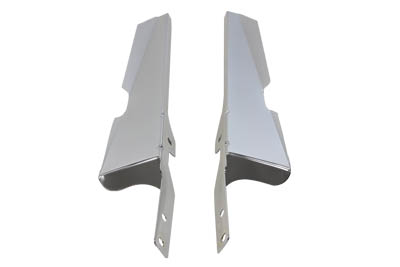 Chrome OE Windshield Deflectors for 1986-UP FLST Softail