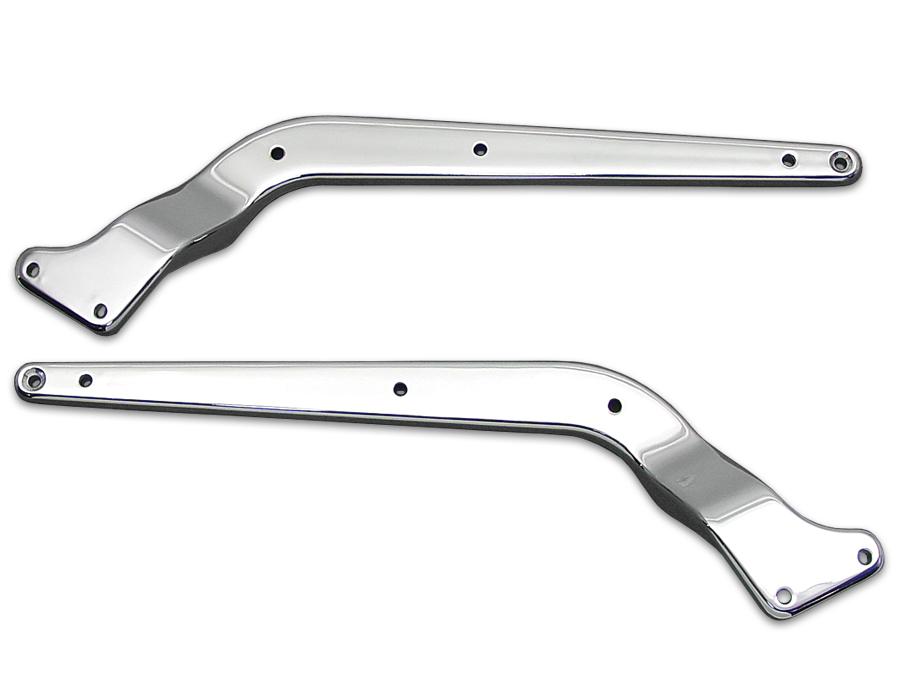 Replica Rear Fender Strut Set Chrome for 1986-1999 FLST