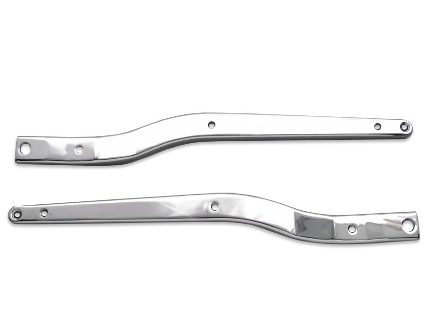 Chrome Rear Fender Strut Set for FXWG 1980-85 Wide Glide