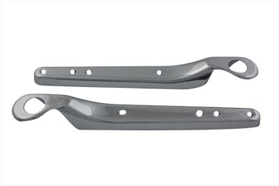 Chrome Rear Fender Strut Cover Set for XL 1994-03 Sportster