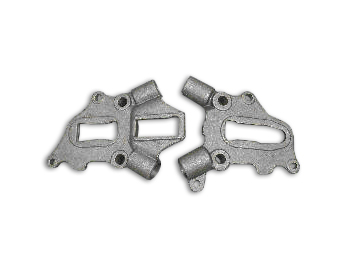 Rear Frame Axle Plate Set for 1938-1957 EL, UL & FL
