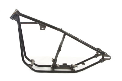 Big Twin Custom Rigid Frame 2-1/4 in. Stretch w/ 35 Degree rake