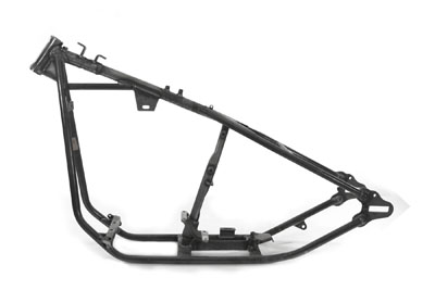 "Custom Rigid Big Twin Frame with Bobbed Mounts 35 Rake 2-1/4"" Stretch"