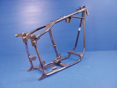Paughco Replica Swingarm Frame for 4-Speed & Flat Side Tank Set