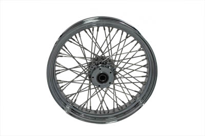 "18"" x 3.5"" FLT 2000-UP Touring Front 60 Spoke Wheel"