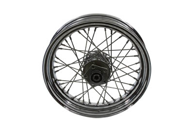"16"" x 3"" Rear Stainless Spoked Wheel for 1982-85 BIG Twin & XL"