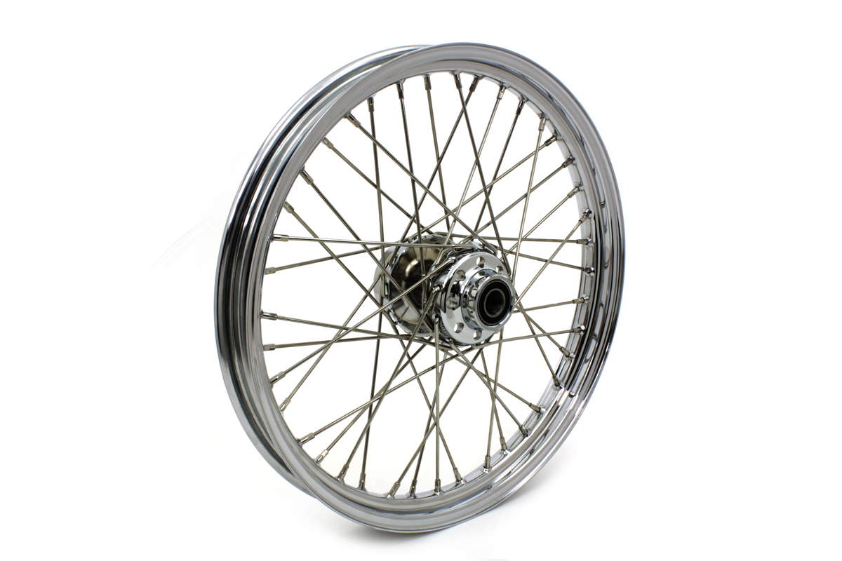 "21"" x 2.15"" Front Spoke Wheel for 2007-UP FXDWG & FXST"