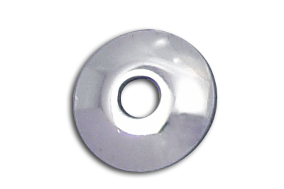 "Chrome Shock Stud Washers 5/8"" Hole for 1965-74 Big Twins & XLH"